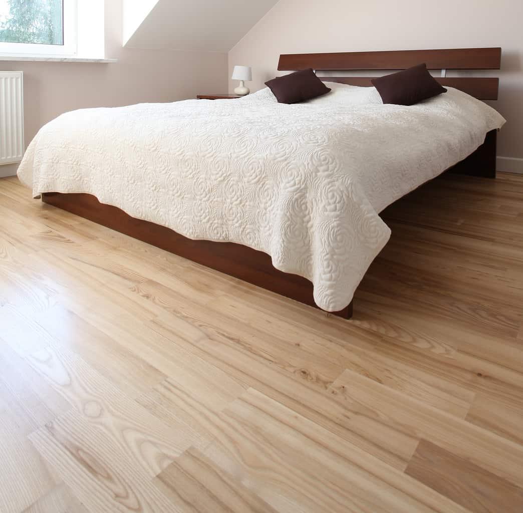 Slaapkamer schuren en olien